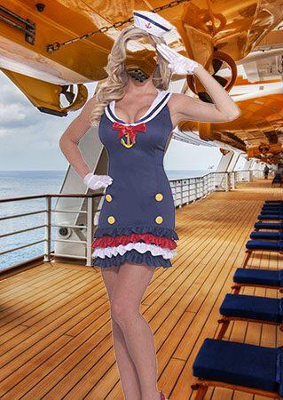 Костюм для фотомонтажа - Морячка