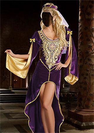 Женский фотошаблон - Королева престолов