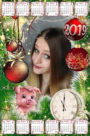 Календарь на 2019 год - В ожидании нового года